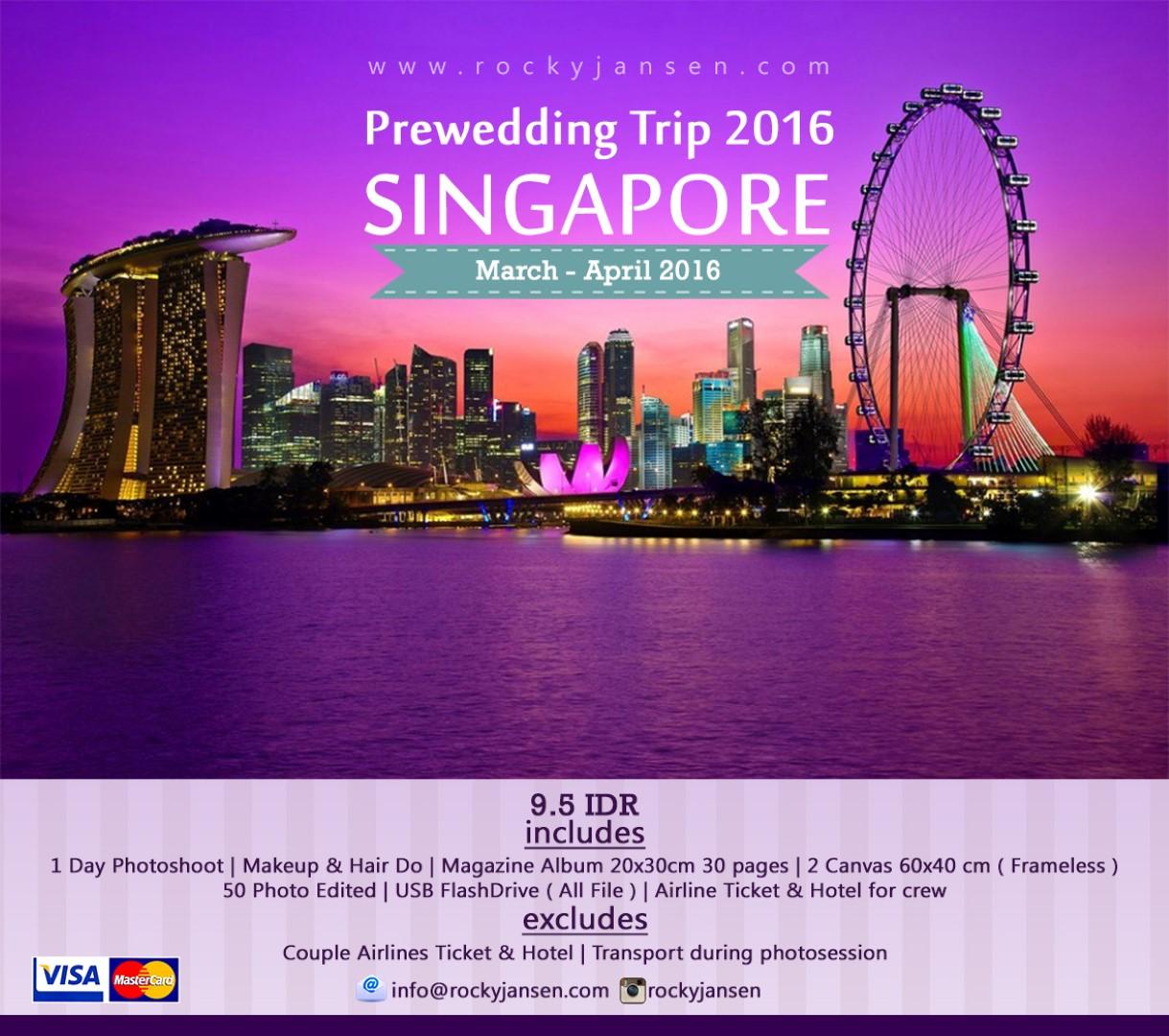 SINGAPORE PREWEDD PACKAGE